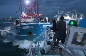Francia és brit halászhajók csaptak össze a La Manche-csatornában