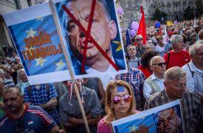 Az európai Magyarországért tüntettek Budapesten