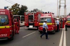 Robbanás történt egy Maros megyei iskolában, két személy súlyosan megsérült