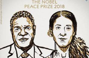 A háborús nemi erõszak ellen küzdõ aktivisták kapták a Nobel-békedíjat