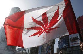 Szerdától teljesen legális a marihuána Kanadában