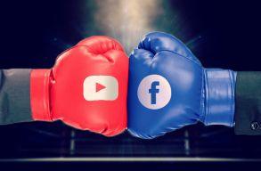 Állítólag jó nagyot csalt a Facebook, többek között a YouTube kárára