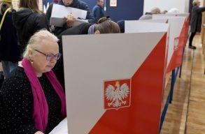 Keveset változott Lengyelország politikai térképe a vasárnapi helyhatósági választások után
