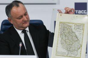 Moldova elnöke az oroszokat hibáztatja, amiért Moldva Romániához tartozik