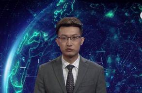 Ez már a jövõ? Kínában mesterséges intelligencia olvassa be a híreket
