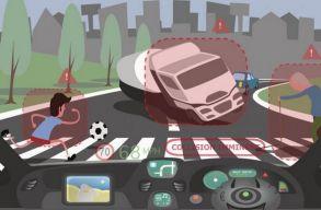 Az önirányító jármûvek azt is eldönthetik majd, kit ütnek el inkább balesetkor