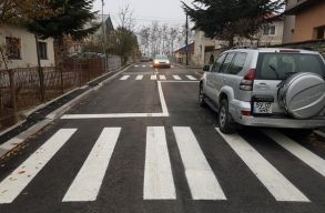 Romániai megvalósítás: 9 átjáró egy 300 méteres utcában