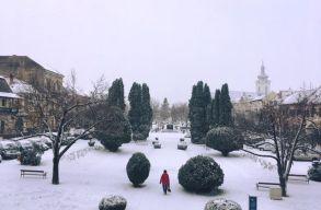 Beköszöntött a tél Székelyföldre