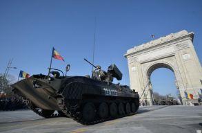 Így vonult négyezernél is több katona a bukaresti díszszemlén