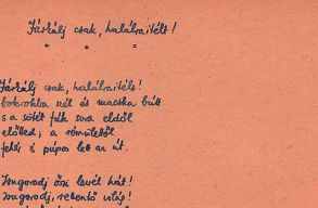 Radnóti Miklós eddig ismeretlen verssorát fedték fel a hagyatékkezelõk