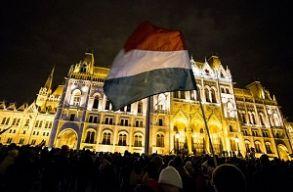 Pénteken is tüntettek Budapesten