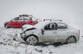 A havazás miatt forgalmi fennakadások vannak az egész országban
