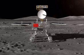 Egy kínai ûrszonda landolt a Hold sötét oldalán