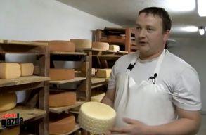 A tekerõpataki Bálint Attila lett a Kárpát-medence legjobb sajtkészítõje