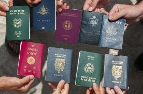 Összeállították a világ útleveleinek erõsségi rangsorát