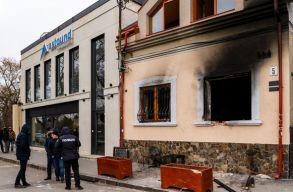 Német szélsõjobboldali szál az ungvári KMKSZ iroda felgyújtási kísérletének ügyében