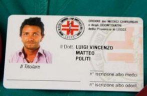 Nyolc osztályt végzett olasz parkolóõr adta ki magát sebésznek, és úgy tûnik, mûtött is romániai magánkórházakban