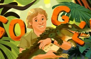 """57 éves lenne """"A krokodilvadász"""", rá emlékezik ma a Google"""
