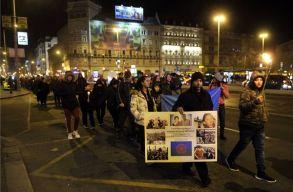 A romagyilkosságok áldozataira emlékeztek Budapesten