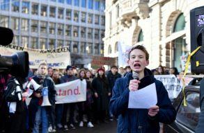 Március 15-re globális demonstrációt hirdettek a környezetvédelemért tüntetõ diákok