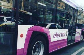 Hét új elektromos autóbusszal gazdagodott Kolozsvár, és egy villamostelepet is felújítanak