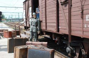 A holokausztnak emléket állító vagonkiállítás érkezik Szatmárnémetibe