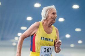 Világrekordot döntött és aranyérmet nyert egy 92 éves román nõ