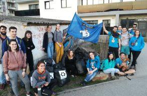 Tarol a KMDSZ diáknapos csapatok között a #TrashTagChallenge