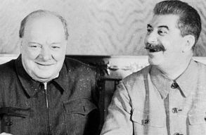 Elõször állítják ki azt a dokumentumot, amellyel Churchill és Sztálin felosztotta Kelet-Európát