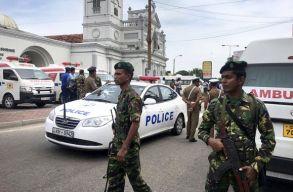 Robbantássorozat Srí Lankán, a halottak száma már 290