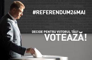 A referendumon való részvételre buzdít Johannis a Facebookon