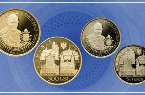 Különleges érméket bocsátanak ki a romániai pápalátogatásra
