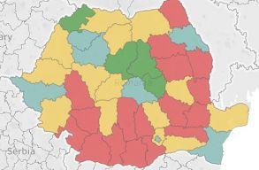 Megyei bontásban mutatjuk a pártokra leadott szavazatok arányát