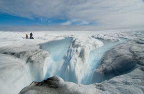 Szélsõséges jégolvadás zajlik Grönlandon