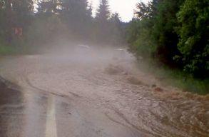 Az ország 13 megyéjében van árvízveszély, Hargita és Kovászna megye is érintett
