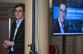 Karácsony Gergely a budapesti ellenzéki fõpolgármesteri elõválasztás gyõztese