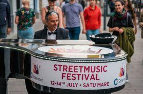Pénteken kezdõdik a Szatmárnémeti Utcazene Fesztivál