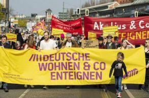 Merre tart a nagyvállalatok részleges kisajátítását javasoló berlini lakhatási mozgalom?
