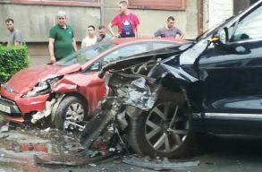 A szállításügyi miniszter balesetet szenvedett