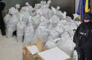 Nyoma veszett közel egy tonna kokainnak a Tulcea megyei rendõrök bénázása miatt