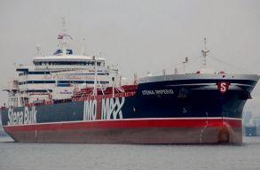 Iránnak csak sikerült lefoglalnia egy brit tartályhajót, London magyarázatot követel