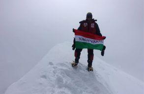 Varga Csaba hóviharban mászta meg negyedik nyolcezres csúcsát