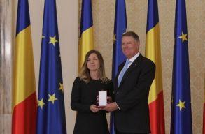 Simona Halep átvette a Románia Csillaga érdemrend lovagi fokozatát
