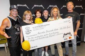 A Metallica 250 ezer euróval támogat egy romániai gyermekkórházat