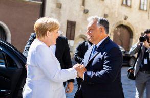 Merkel köszönetet mondott Magyarországnak a német egység megteremtéséhez való hozzájárulásáért