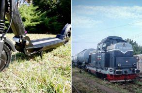 Gyorsabbak az elektromos rollerek, mint a román tehervonatok