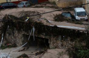 Spanyolországban több halálos áldozata van az áradásoknak, bevetették a hadsereget is