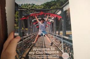 Címoldalon ajánlja úticélnak Kolozsvárt a Wizz Air magazinja