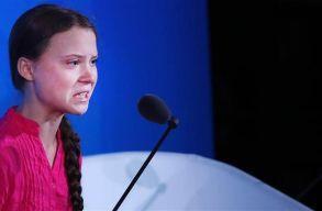 """""""Hogy merészelitek?"""" Könnyeivel küszködve tartotta meg beszédét Greta Thunberg az ENSZ klímacsúcsán"""