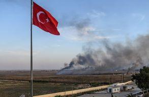 Erdogan: a török hadsereg 109 négyzetkilométert foglal el Szíriában